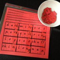Level 1 Race Game - Last Sounds, Victorian Modern Cursive Script