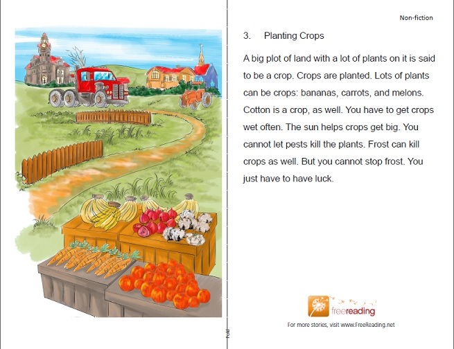 free reading planting crops
