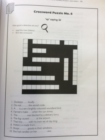 Crossword that doesn't cross