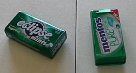 Gum or mint tins