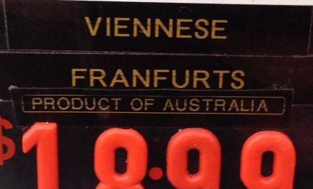 viennese franfurts