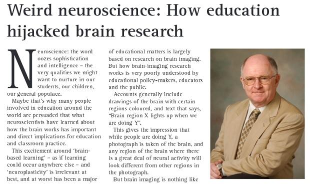 Weird neuroscience