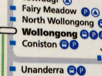 wollongong-train-map